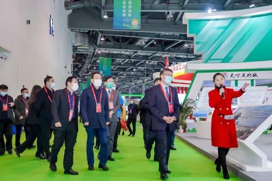 2020第十三届中国绿色食品博览会在昌盛大开幕!